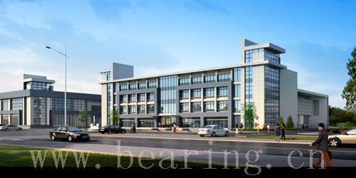 二层办公楼效果图-郑州金鑫精密轴承有限公司拟6月底正式投产